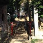 [成増] 高台の住宅地に佇む菅原神社
